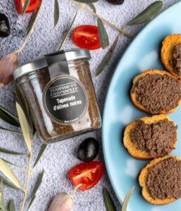 achat vente tapenade olive noire artisanale apéro à tartiner