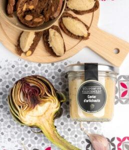 achat vente caviar artichaut artisanal tartinable provence apéro à tartiner