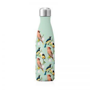 bouteille isotherme thermos motif oiseaux cadeau à acheter Label Tour