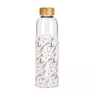 Achat bouteille en verre motif liberty cadeau à acheter Label Tour