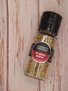 sel aromatisé spécial plancha achat vente sel de camargue épices aromates coriandre