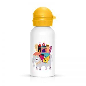 Achat gourde enfants motif éléphant cadeau à acheter Label Tour Zabeil
