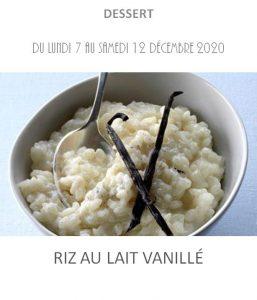 riz au lait vanille traiteur à emporter