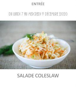 salade coleslaw traiteur à emporter