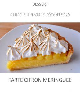 tarte citron meringuée traiteur à emporter