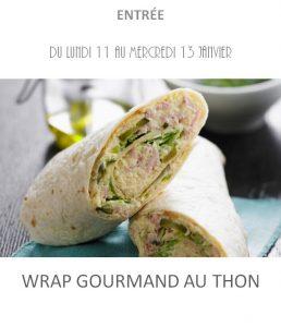 wrap thon traiteur à emporter avignon barbentane