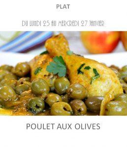 poulet aux olives traiteur à emporter avignon barbentane saint rémy provence