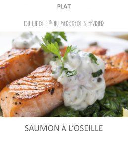 saumon oseille traiteur à emporter avignon barbentane saint rémy provence