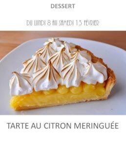 tarte citron meringuée traiteur plat à emporter avignon barbentane st rémy provence