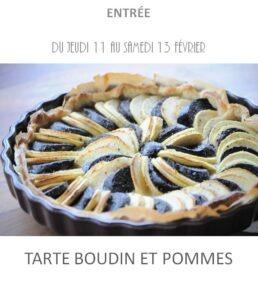 tarte boudin et pommes traiteur plat à emporter avignon barbentane st rémy provence