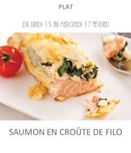 saumon croûte filo traiteur plat à emporter avignon barbentane st rémy provence