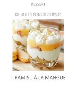 tiramisu mangue traiteur plat à emporter avignon barbentane st rémy provence
