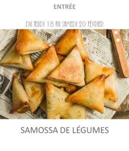 samossa légumes traiteur plat à emporter avignon barbentane st rémy provence