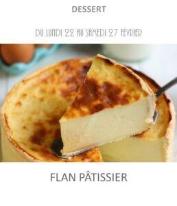 flan pâtissier traiteur plat à emporter avignon barbentane st rémy provence