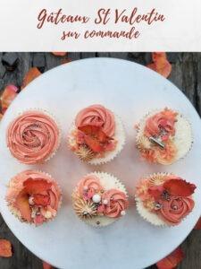 cup cake gateau st valentin traiteur à emporter avignon barbentane st rémy provence alpilles patisserie