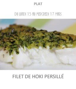 filet de hoki persillé traiteur plat à emporter avignon barbentane st rémy de provence