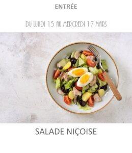 salade niçoise traiteur plat à emporter avignon barbentane st rémy provence