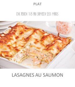 lasagnes au saumon traiteur plat à emporter avignon barbentane st rémy provence