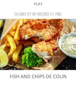 fish and chips traiteur plat à emporter avignon barbentane st rémy provence