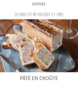 pâté en croûte traiteur plat à emporter avignon barbentane st rémy provence