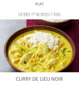 curry de lieu noir traiteur plat à emporter avignon barbentane st rémy provence