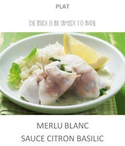 achat vente merlu citron basilic traiteur plat à emporter avignon barbentane st rémy provence