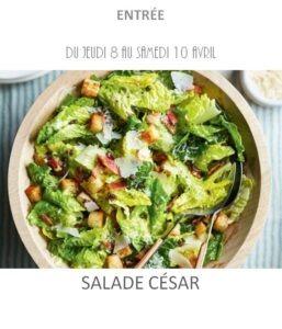 achat vente salade césar traiteur à emporter avignon barbentane st rémy provence