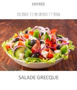 achat vente salade grecque traiteur à emporter avignon barbentane st rémy provence
