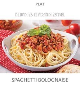 achat vente spaghetti bolognaise traiteur plat à emporter avignon barbentane st rémy provence