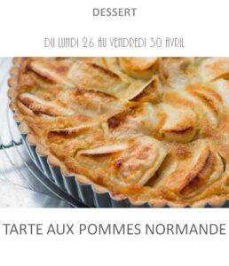 achat vente tarte pommes normande traiteur plat à emporter avignon barbentane st rémy provence