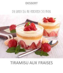 achat vente tiramisu fraises traiteur plat à emporter avignon barbentane st rémy provence