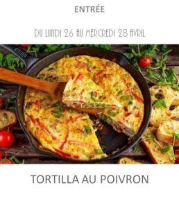 achat vente tortilla poivron traiteur plat à emporter avignon barbentane st rémy provence