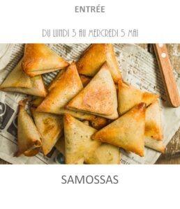 achat vente samossas traiteur plat à emporter avignon barbentane saint rémy provence