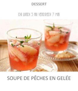 achat vente soupe pêches traiteur plat à emporter avignon barbentane saint rémy provence