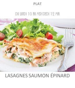 achat vente lasagnes saumon épinard traiteur plat à emporter avignon barbentane saint rémy provence