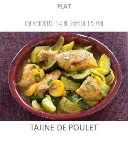 achat vente tajine poulet traiteur plat à emporter avignon barbentane saint rémy provence