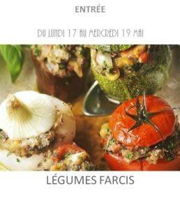 achat vente légumes farcis traiteur plat à emporter avignon barbentane saint rémy provence