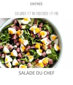 achat vente salade du chef traiteur plat à emporter avignon barbentane saint rémy provence