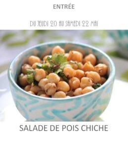 achat vente salade pois chiche traiteur plat à emporter avignon barbentane saint rémy provence