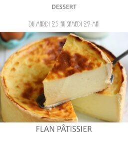 achat vente flan pâtissier traiteur plat à emporter avignon barbentane saint rémy provence