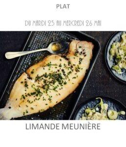 achat vente limande meunière traiteur plat à emporter avignon barbentane saint rémy provence