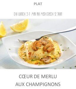 achat vente merlu champignons traiteur plat à emporter avignon barbentane saint rémy provence