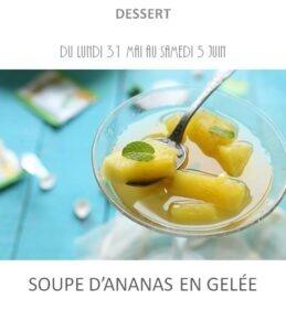 achat vente soupe ananas traiteur plat à emporter avignon barbentane saint rémy provence