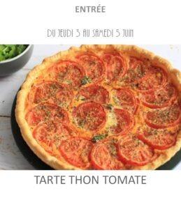 achat vente tarte thon tomate traiteur plat à emporter avignon barbentane saint rémy provence
