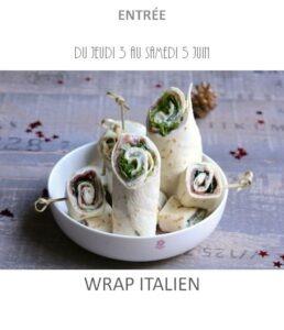 achat vente wrap italien traiteur plat à emporter avignon barbentane saint rémy provence