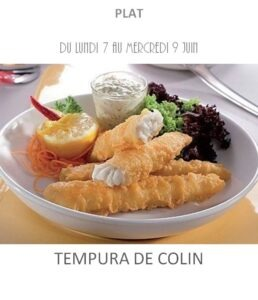 achat vente tempura colin traiteur plat à emporter avignon barbentane saint rémy provence