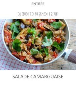 achat vente salade camarguaise traiteur plat à emporter avignon barbentane saint rémy provence