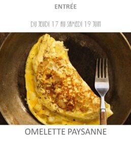 achat vente omelette paysanne traiteur plat à emporter avignon barbentane saint rémy provence