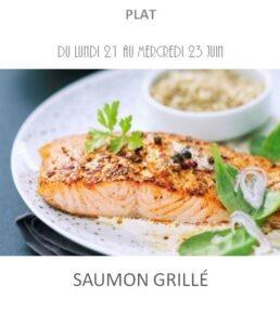 achat vente saumon grillé traiteur plat à emporter avignon barbentane saint rémy provence
