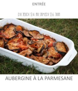 achat vente aubergine parmesane traiteur plat à emporter avignon barbentane saint rémy provence